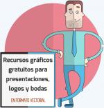 Recursos gráficos gratuitos para presentaciones, logos y bodas