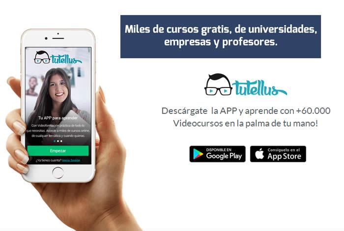 Tutellus. Miles de cursos online en la palma de tu mano
