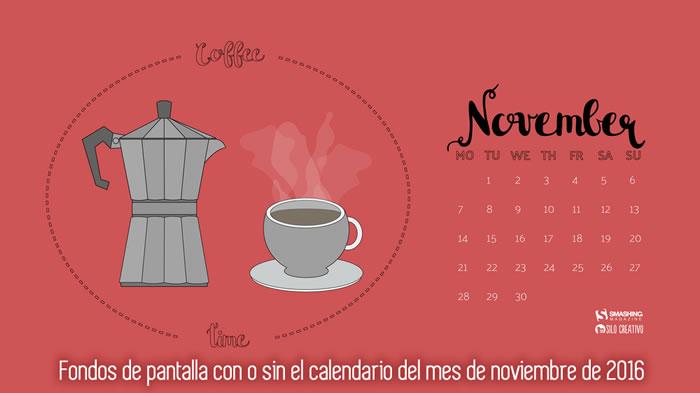 Fondos de pantalla con o sin el calendario del mes de noviembre de 2016