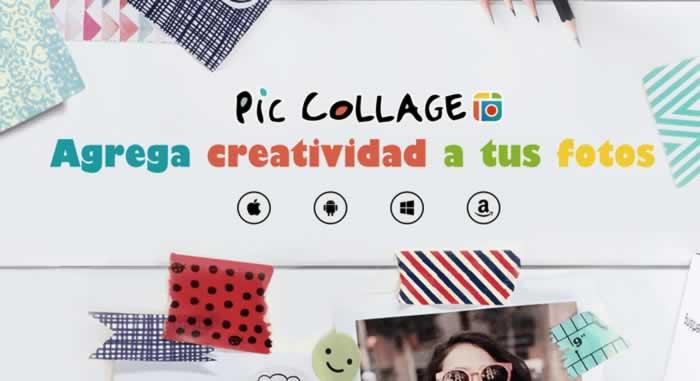 Agrega creatividad a tus fotos con Pic Collage para móviles