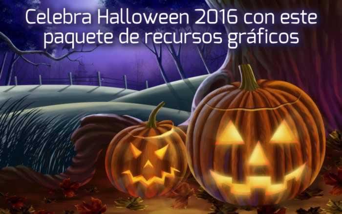 Celebra Halloween 2016 con este paquete de recursos gráficos