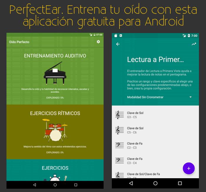 PerfectEar. Entrena tu oído musical con esta aplicación gratuita para Android