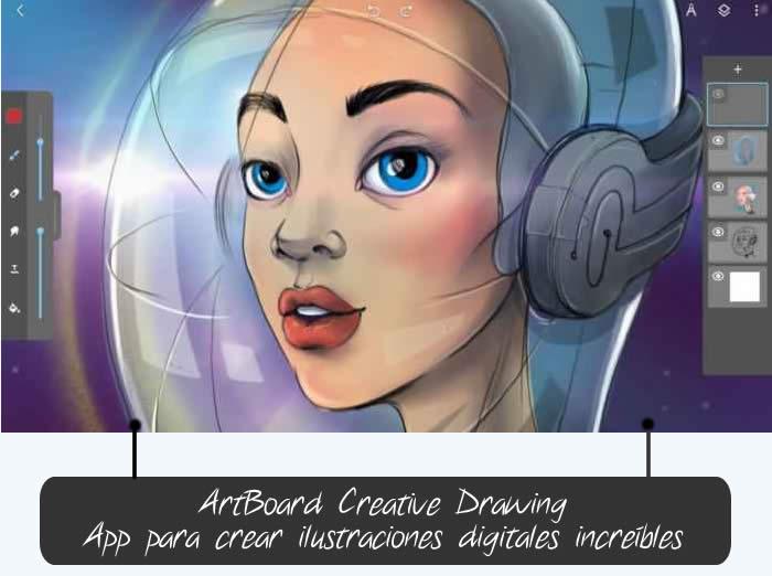 ArtBoard Creative Drawing. App para crear ilustraciones digitales increíbles