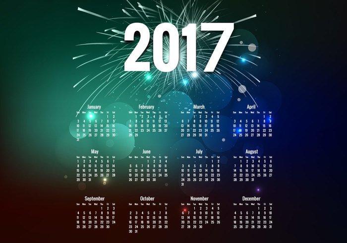 calendario-2017-vecteezy