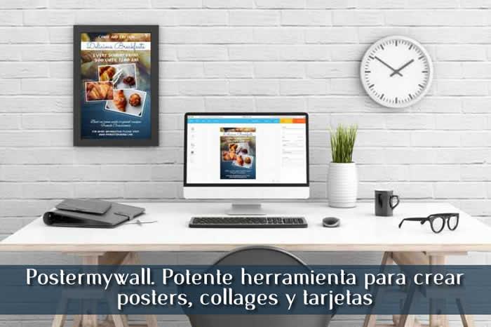 Postermywall. Potente herramienta para crear posters, collages y tarjetas