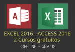 Excel y Access 2016, dos cursos gratuitos en video