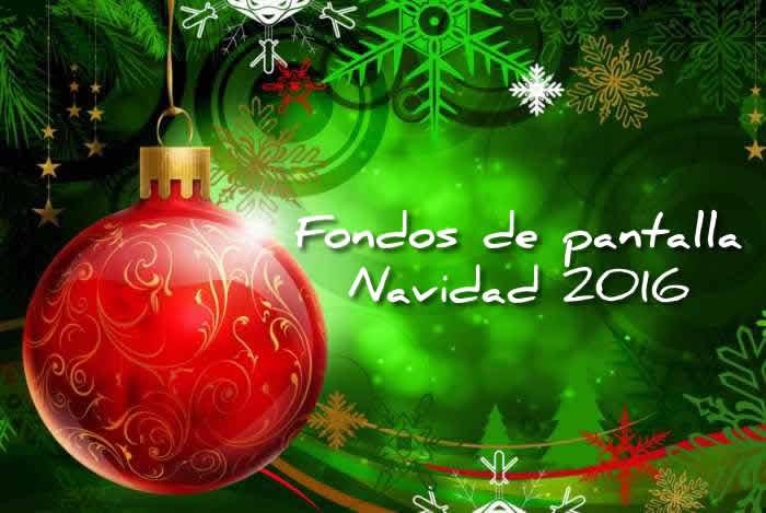 Fondos de pantalla para celebrar la Navidad 2016