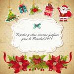 Tarjetas y otros recursos gráficos para la Navidad 2016