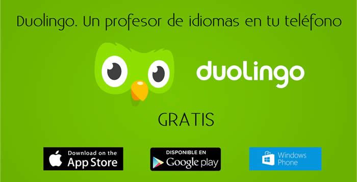 Duolingo. Un profesor de idiomas en tu teléfono, gratis