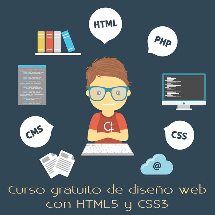 Curso gratuito de diseño web con HTML5 y CSS3