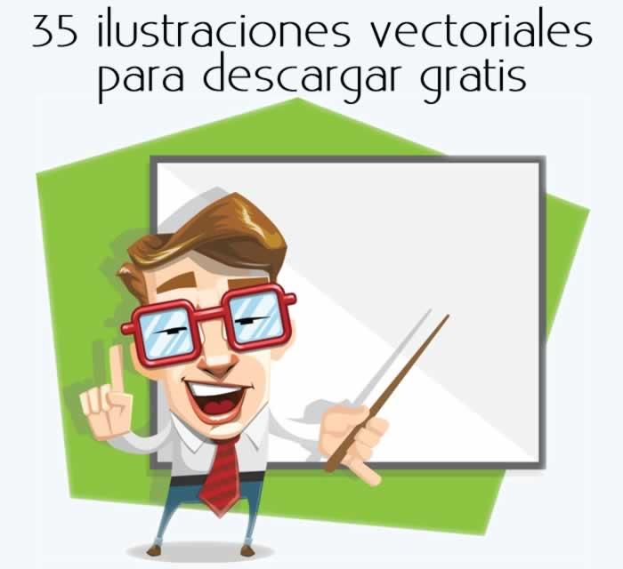 35 ilustraciones vectoriales para descargar gratis