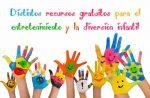 Distintos recursos gratuitos para el entretenimiento y la diversión infantil