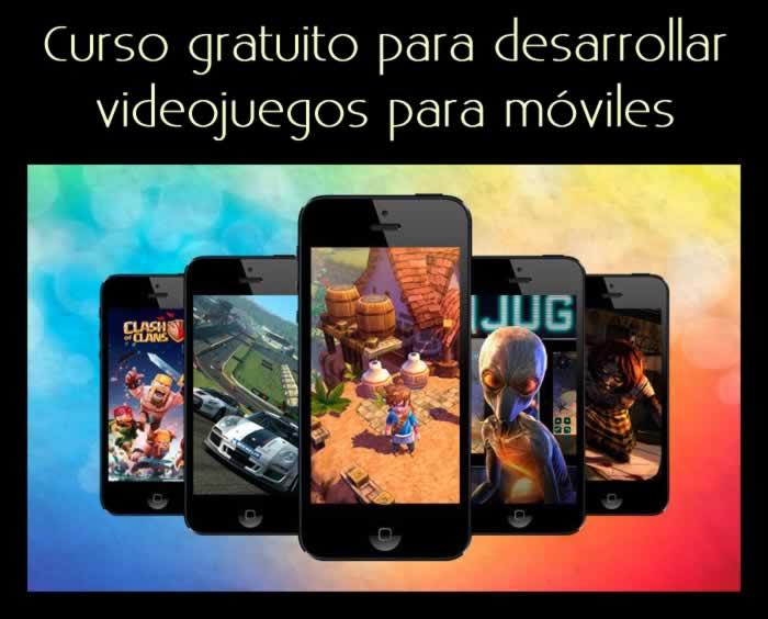 Videocurso para aprender a desarrollar videojuegos para móviles