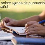 Curso gratuito on-line sobre signos de puntuación en español