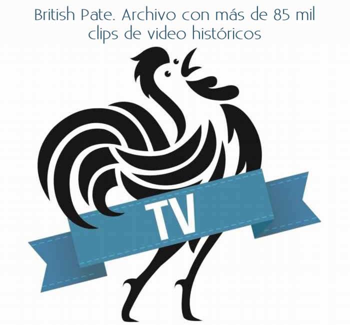 British Pate. Archivo con más de 85 mil clips de video históricos