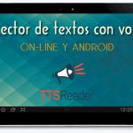 TTSReader. Lector de textos con voz