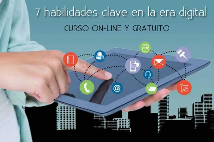 Curso gratuito on-line: Siete habilidades clave en la era digital