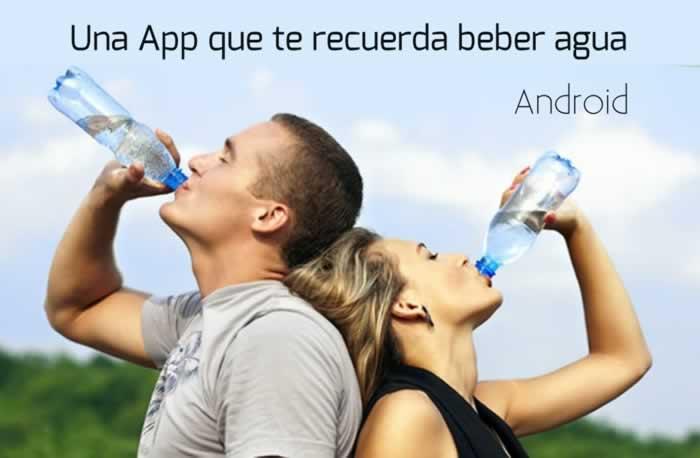DrinkingWater. Una App Android que te recuerda beber agua