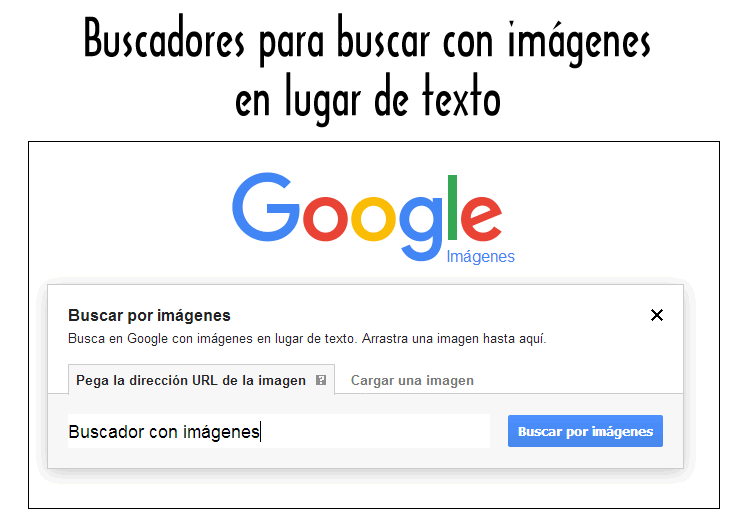 Buscadores para buscar con imágenes en lugar de texto