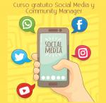 Curso gratuito Social Media y Community Manager (mayo/2017)