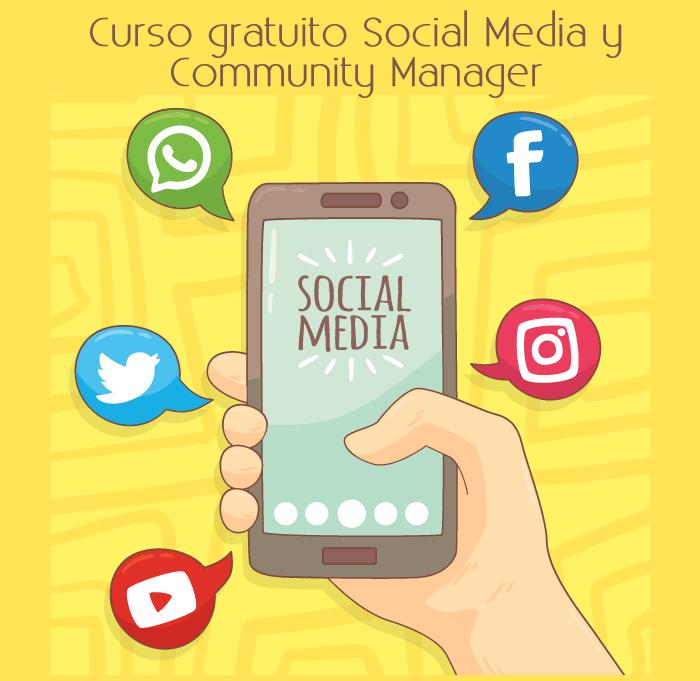 Curso gratuito Social Media y Community Manager