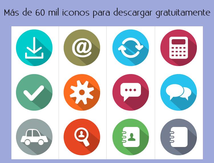 08e3006d1268c Más de 60 mil iconos para descargar gratuitamente