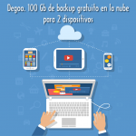 Degoo. 100 Gb de backup gratuito en la nube para 2 dispositivos