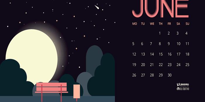 Fondos de pantalla con o sin el calendario del mes de junio de 2017