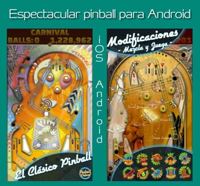 Pinball De Luxe. Espectacular flipper para iOS y Android