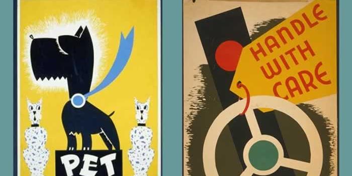 2 webs para descargar gratis cientos de imágenes y pósteres vintage