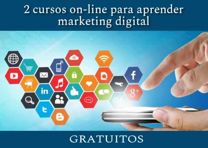 2 cursos on-line gratuitos para aprender marketing