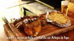 Aprende a cocinar un Pollo a la Parrilla con Milhojas de Papa