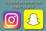 Curso gratuito para aprender a usar Instagram y Snapchat
