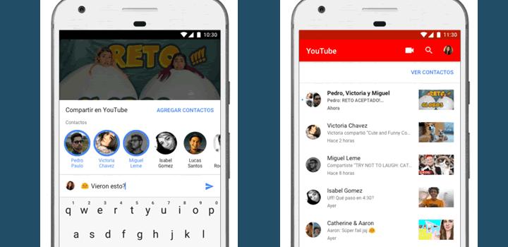 YouTube renueva la forma de compartir sus videos