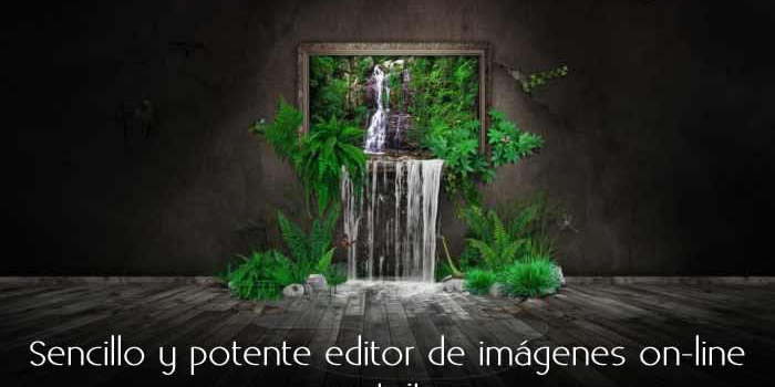 Sencillo y potente editor de imágenes on-line gratuito