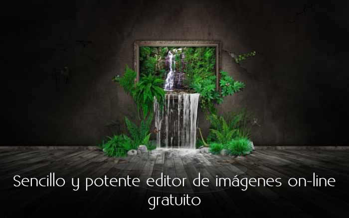 Sencillo y potente editor de imágenes on-line gratuito