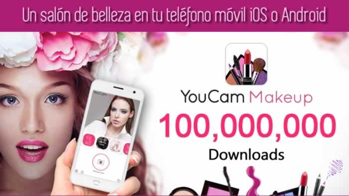 YouCam Makeup. Un salón de belleza en tu teléfono móvil