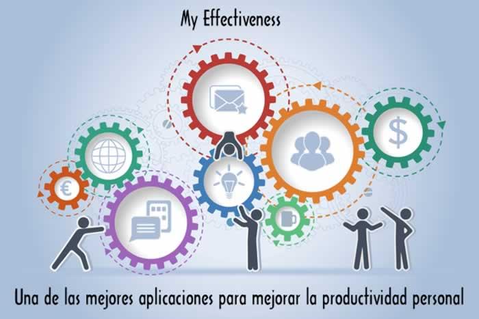 My Effectiveness. Una de las mejores aplicaciones para optimizar la productividad personal