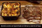 Aprende a cocinar una Tapa de Asado con Salmuera y Laberinto de Papas