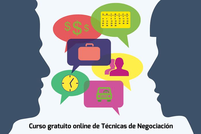 Curso gratuito online de Técnicas de Negociación