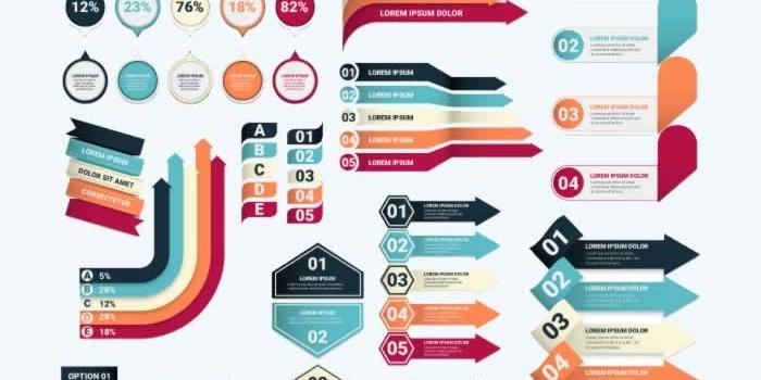 Más de 4.700 gráficos vectoriales gratuitos para crear infografías