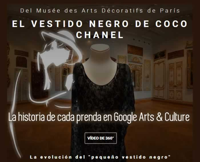 La historia de cada prenda en Google Arts & Culture