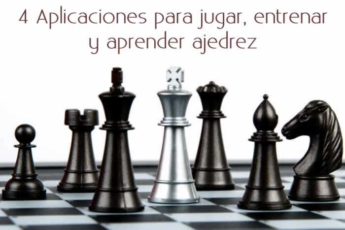 4 Aplicaciones para jugar, entrenar y aprender ajedrez
