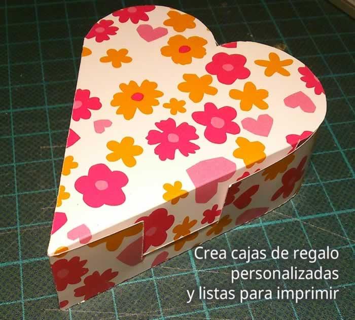 Template Maker. Crea cajas de regalo personalizadas y listas para imprimir