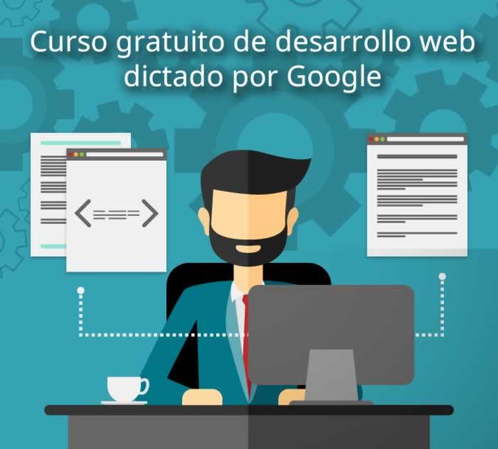 Curso gratuito de desarrollo web dictado por Google