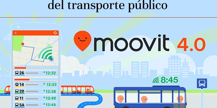 Moovit, la aplicación líder para tener información del transporte público