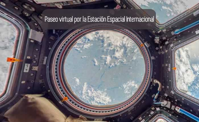 Paseo virtual por la Estación Espacial Internacional