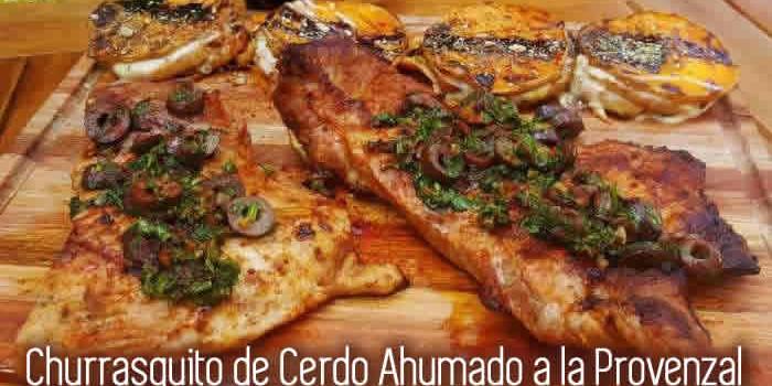 Aprende a cocinar Churrasquito de Cerdo Ahumado a la Provenzal