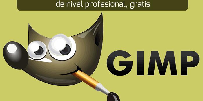 GIMP. Programa de edición y creación de imágenes de nivel profesional, gratis