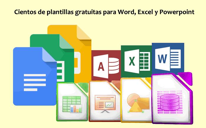 cientos de plantillas y recursos gratuitos para word excel y powerpoint